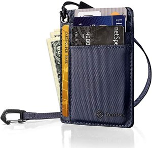 tomtoc key ring wallet