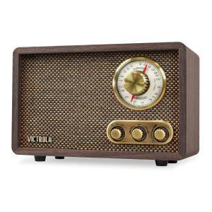 Victrola-Retro-Wood-Bluetooth-FMAM-Radio-