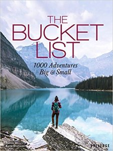 """The Bucket List: 1000 Adventures Big & Small""  book cover"