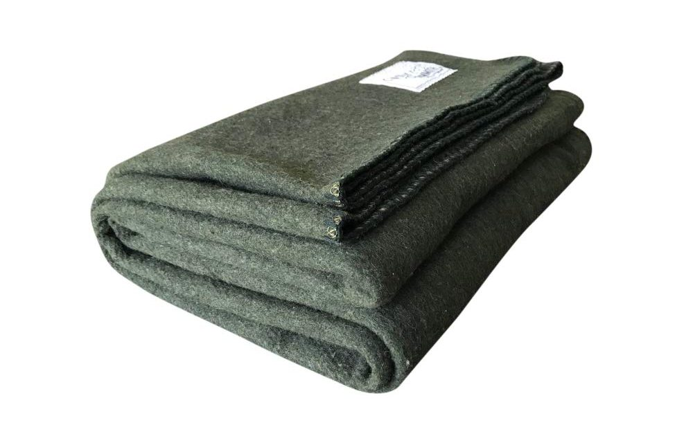 Woolly Mammoth Woolen Company Explorer Collection Blanket