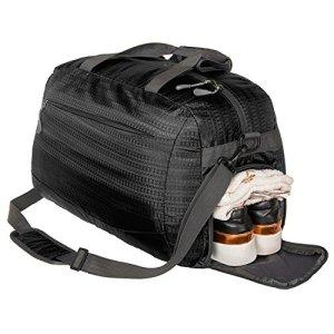 Black Gym Bag Nylon Shoes