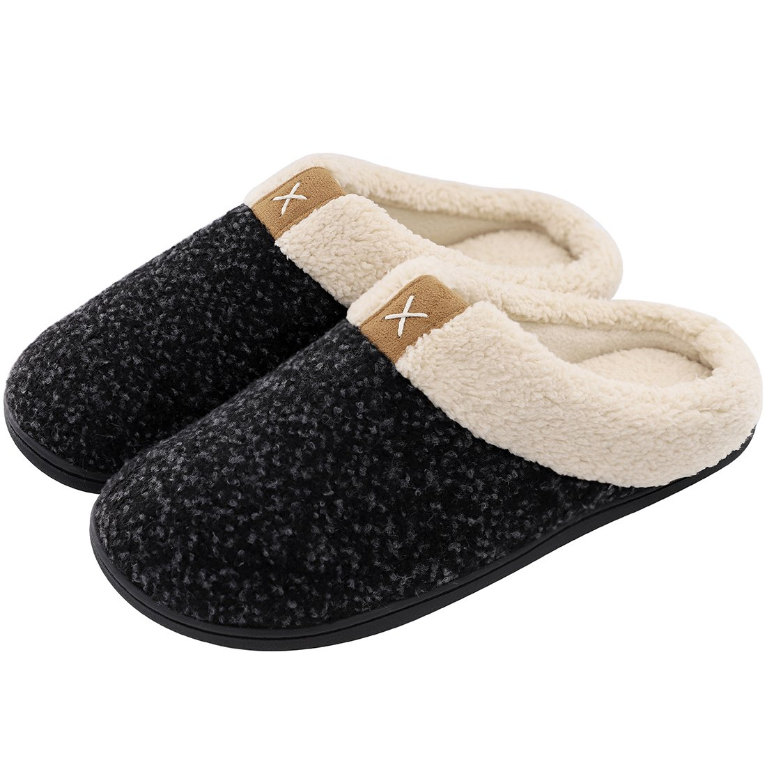 Men's ULTRAIDEAS Cozy Memory Foam Slippers