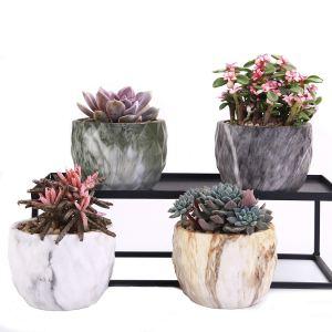 Marbled Ceramic Pots