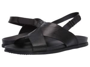 Black Sandals Straps Men's