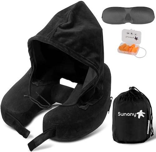 Sunany Hooded Neck Pillow