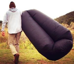 Inflatable Air Sofa black
