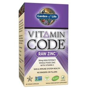 Zinc Supplement Garden of Life