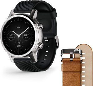Motorola 360 3rd Gen 2020 Watch - MOST STYLISH Apple Watch Alternative