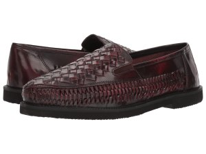 woven loafers men's deer stags