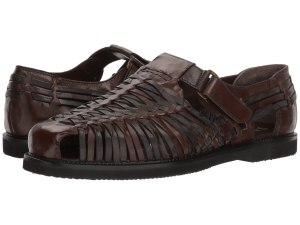 leather sandals strap men's