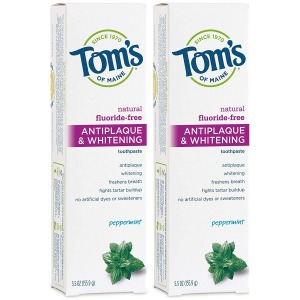 Tom's of Maine Anti-plaque and Whitening Toothpaste, Best Toothpaste