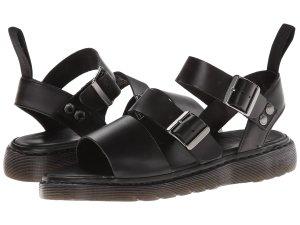 Black Strap Sandals Dr. Martens