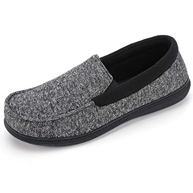Men's RockDove Moc Slipper With Anti-Odor Fabric