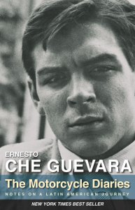 """The Motorcycle Diaries: Notes on a Latin American Journey"" by Ernesto Che Guevera book cover"
