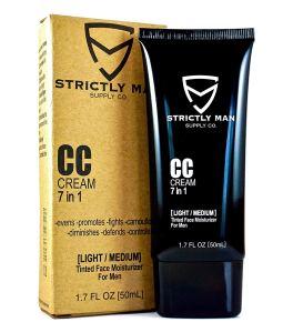 Men's CC Cream Moisturizer Bronzer