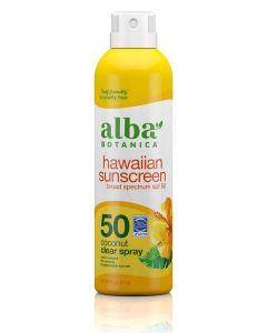 alba botanica hawaiian sunscreen clear
