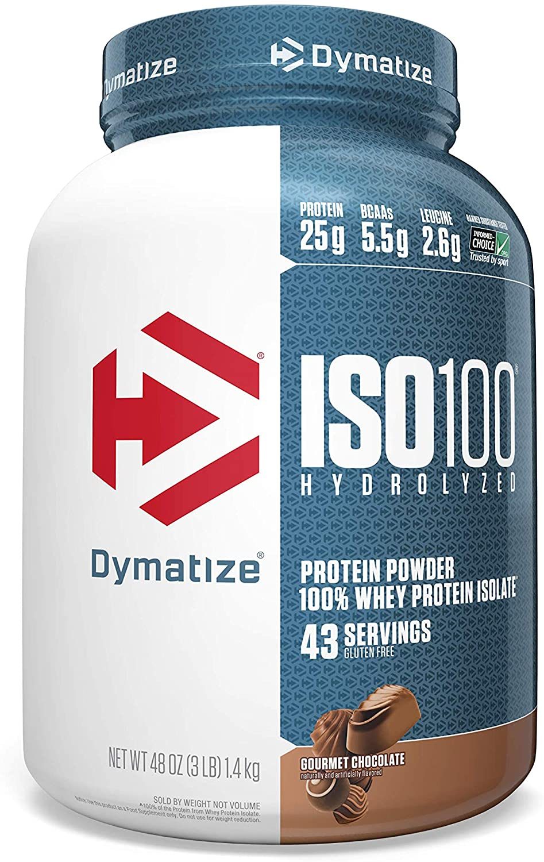 Dymatize ISO100 Hydrolyzed protein powder whey isolate protein