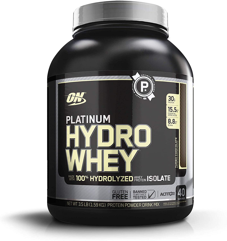 Optimum Nutrition Platinum Hydro Whey Protein Powder