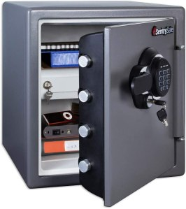 SentrySafe SFW123GDC Fireproof Safe and Waterproof Safe with Digital Keypad 1.23 Cubic Feet