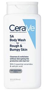 how to get rid of back acne cerave