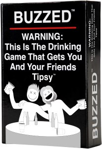 buzzed drinking card game, drinking card games