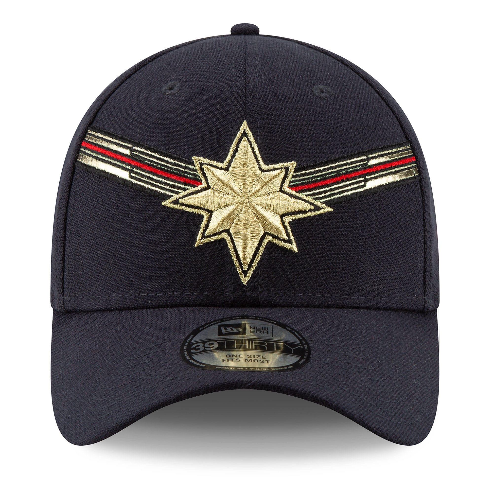 Captain Marvel Cap