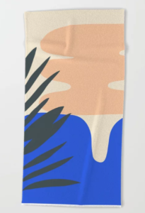 Asymmetric Beach Towel