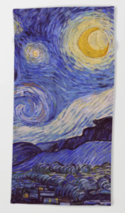 Starry Night Van Gogh Beach Towel