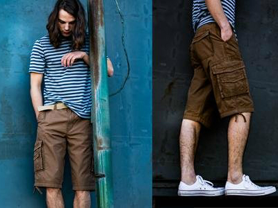Men's Cargo Shorts Spring Summer Trends