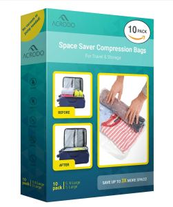 packing hacks carry on compression bags