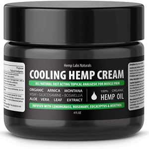 best cbd cream pain relief cooling hemp