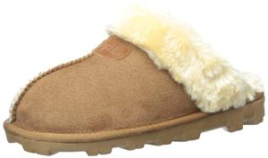 CLPP'LI Slip On Faux Fur Warm Winter Mules