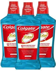 best mouthwash colgate total pro shield