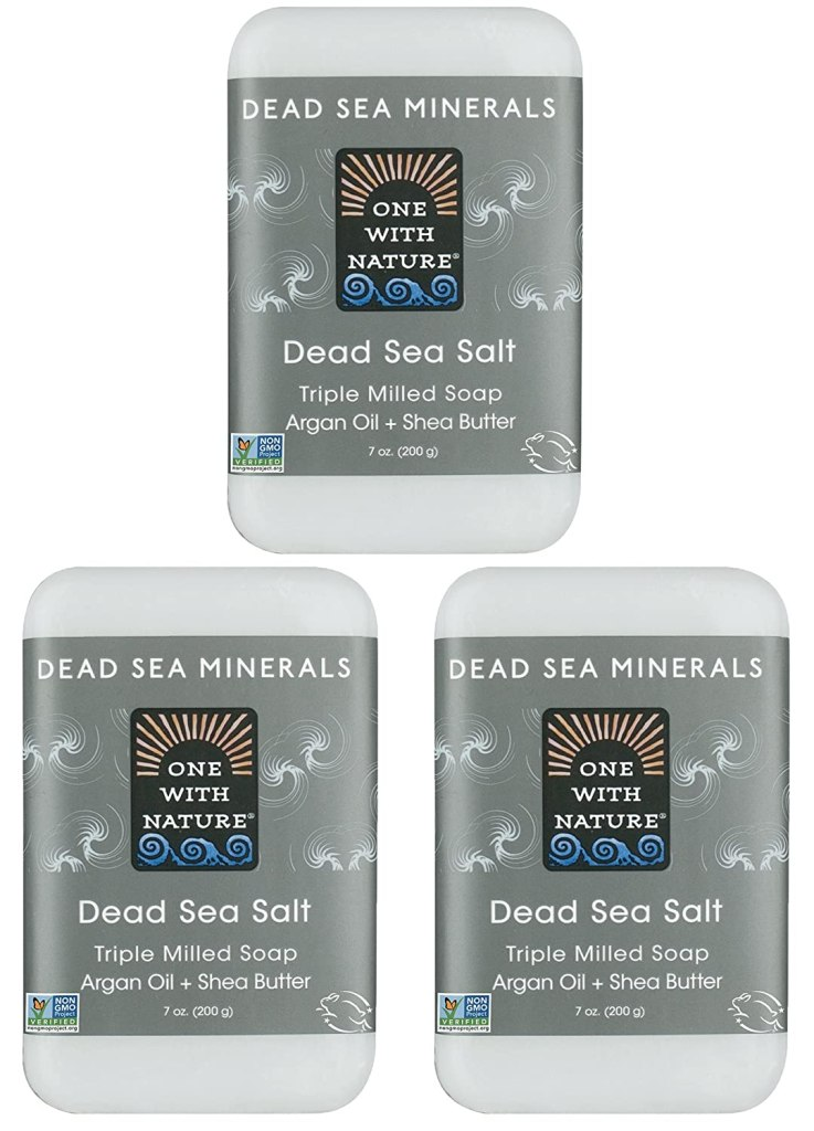 dead sea salt soap fragrance free