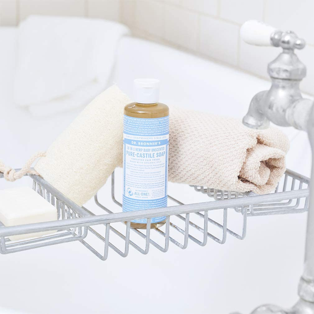 dr. bronners pure castile liquid soap unscented