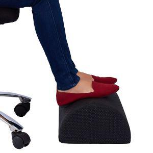 foot rest under desk cushion