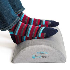foot rest under desk well cushion