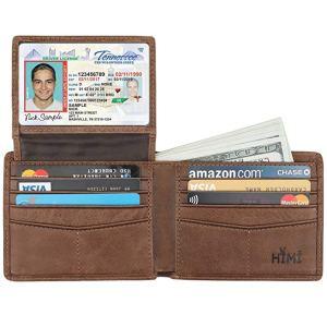 Genuine Leather RFID Blocking Bifold Stylish Wallet