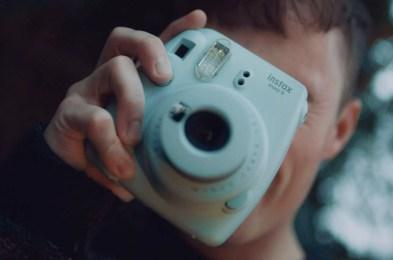 Instax Camera Man