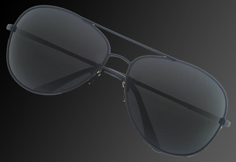 LUENX Polarized Aviator Sunglasses BGR