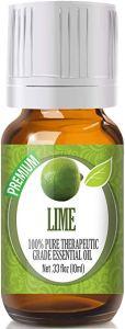 best essential oils massage lime
