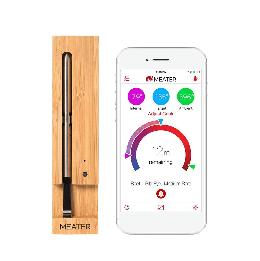 MEATER Original True Wireless Smart Meat Thermometer Amazon