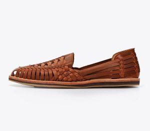 woven leather sandals huarache