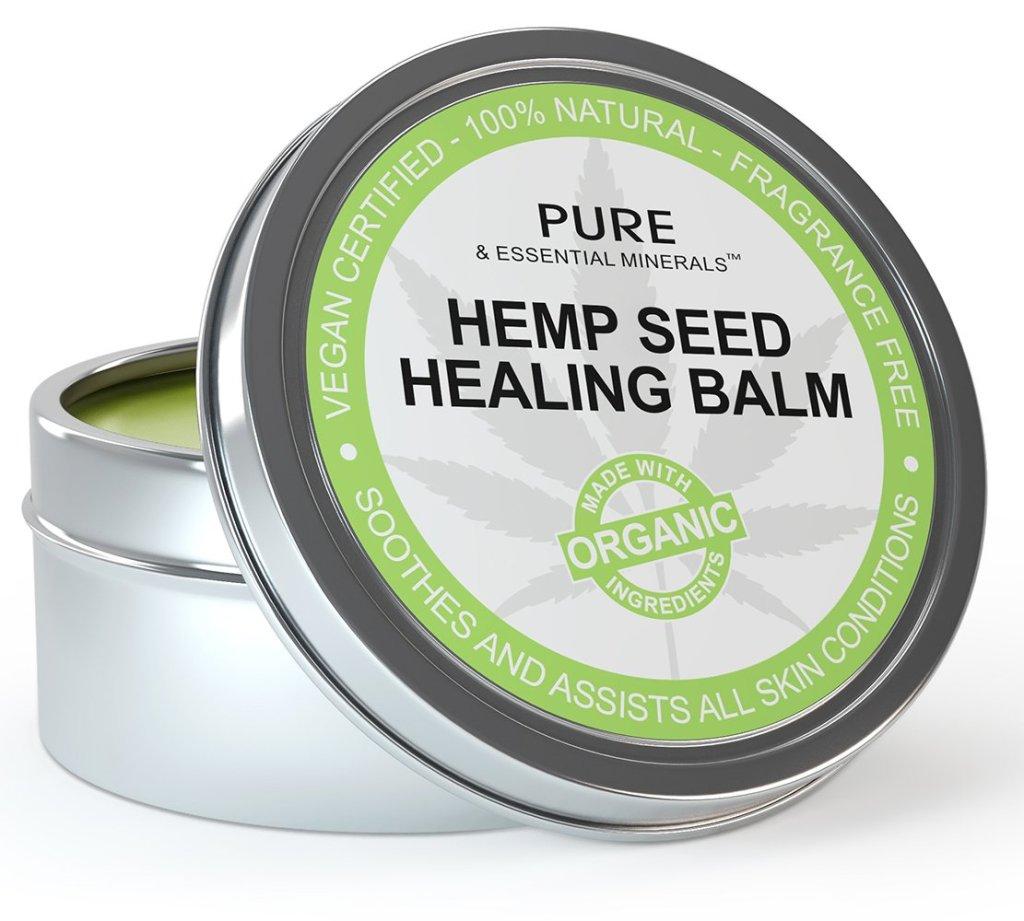 pure & essential minerals hemp seed healing balm