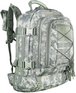 WolfWarriorX Expandable Military Backpack