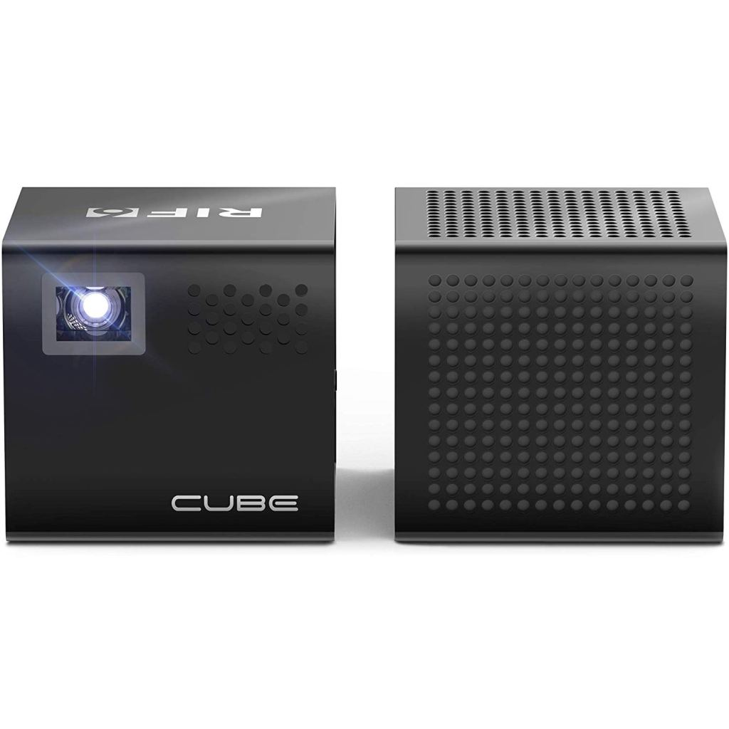 RIF6 Cube Full LED Mini Projector Amazon