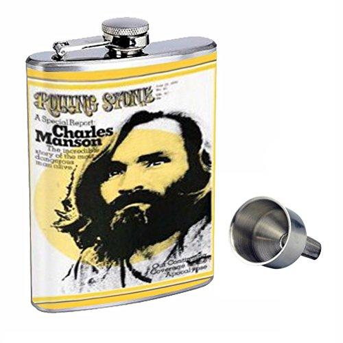 Charles Manson flask