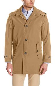 Khaki Trench Coat Men's