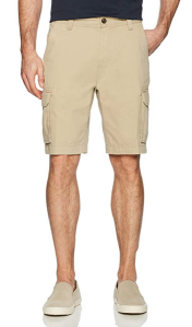Tan Cargo Shorts Men's