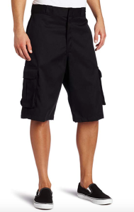 Black Cargo Shorts Dickies Men's